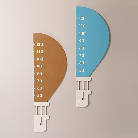 #Up - #wall #meter - #children - Growing up means going beyond with your imagination. Measure your children advances with the wall meter balloon-shaped! - http://eco-and-you.com/en/shop/up/