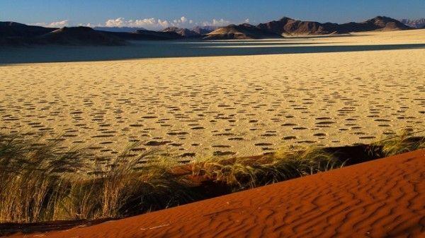 O mistério dos círculos de fada do deserto da Namíbia