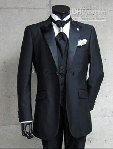 Black-Mens-Wedding-Suits-Groom-Bridal-Suits-Best-Man-Tuxedos-Formal-Blazers
