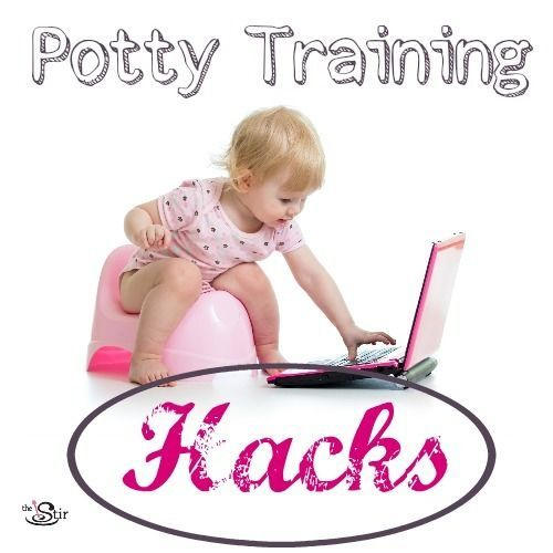 10 creative hacks to make potty training easier!
