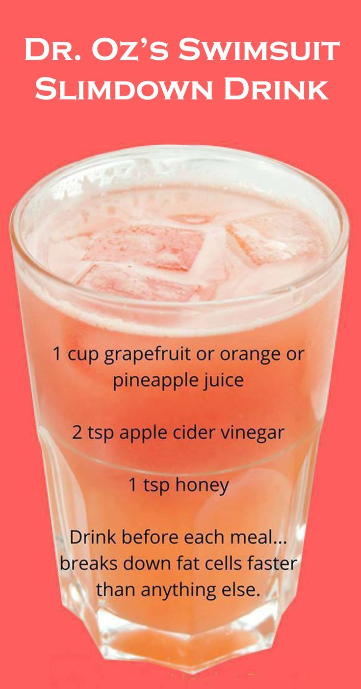 Drink This Before Each Meal and Lose Weight Extremely Fast