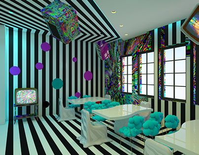 "Check out new work on my @Behance portfolio: ""psychedelic interior"" http://on.be.net/1M3Zjyn"