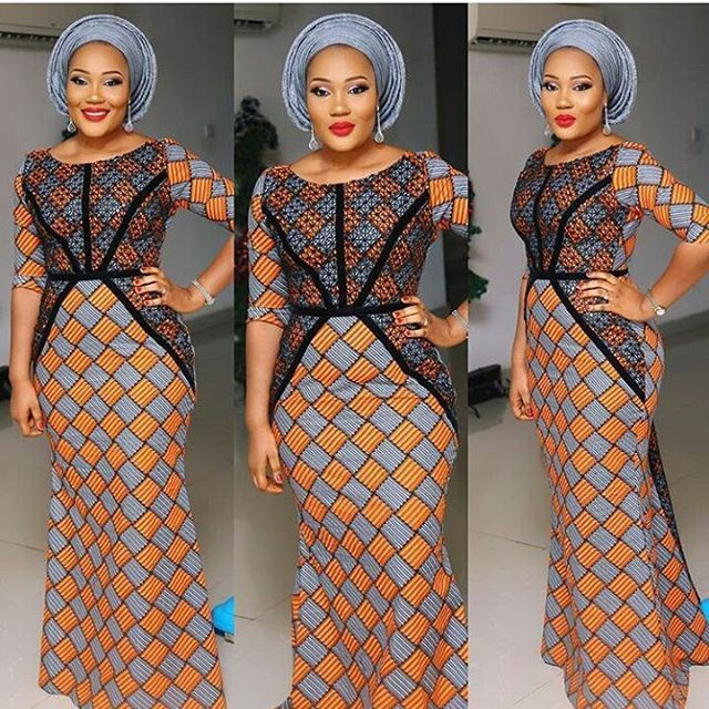 Beautiful Ankara Long Gown Styles For Ladies - DeZango Fashion Zone
