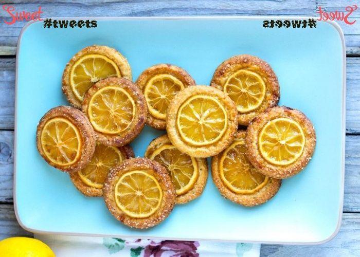Диетическое лимонное печенье