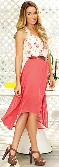 Perfect summery outfit (Lauren Conrad Kohl's Collection)