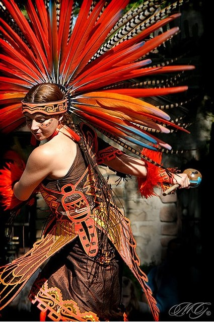 Aztec Dancer  Photo Credit: Marcie Gonzalez