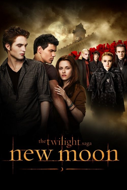 The Twilight Saga: New Moon (2009) Full Movie Streaming HD