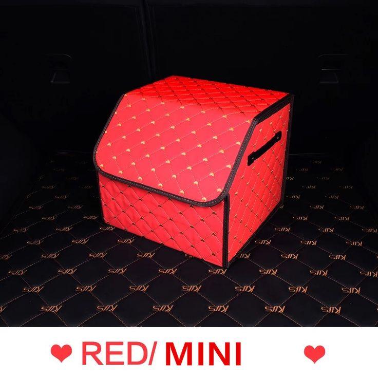 Car Trunk Organizer - Red