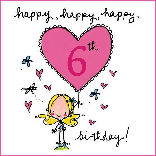 Happy 6th Birthday Quotes