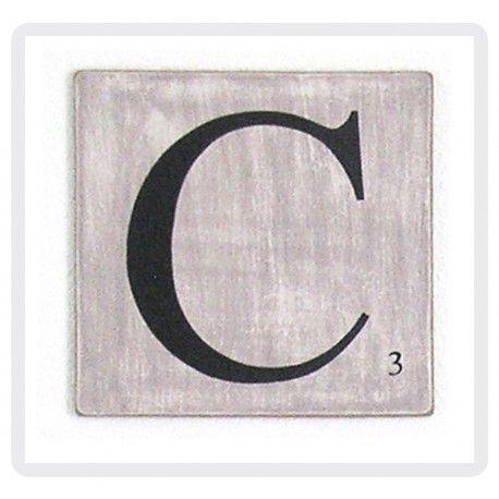 Les 25 meilleures id es concernant lettres scrabble sur pinterest mur de scrabble artisanat - Object deco wc ...