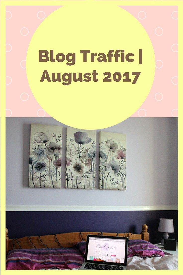 Blog traffic report for August 2017