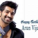 Happy Birthday to Arun Vijay