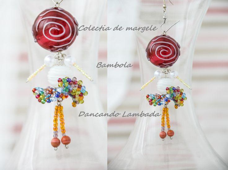 Bambola Dancando Lambada by Colectia de margele  Please visit https://www.facebook.com/pages/Colectia-de-margele/1392796917646011