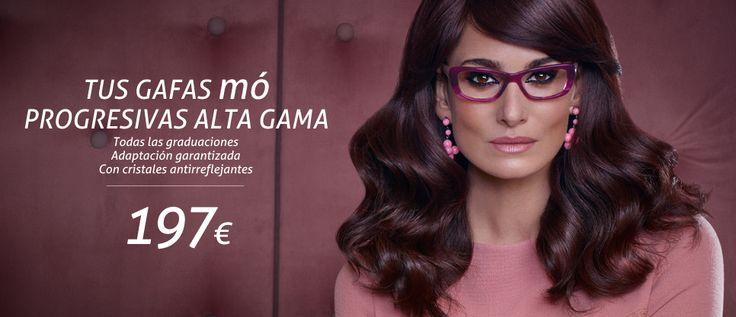 Gafas progresivas por 197€