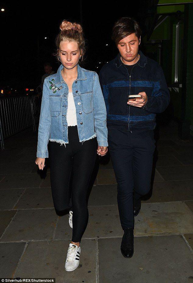 Lottie Moss parties after confirming Alex Mytton split | Daily Mail Online