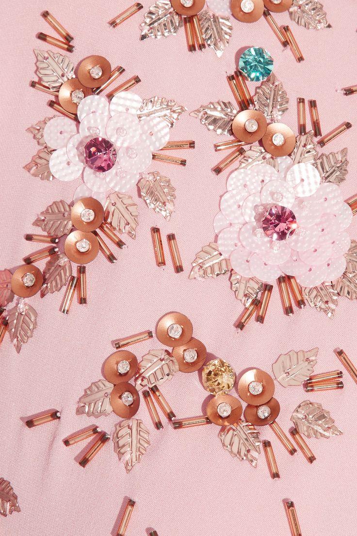 Jenny Packham Embellished silk gown NET-A-PORTER.COM
