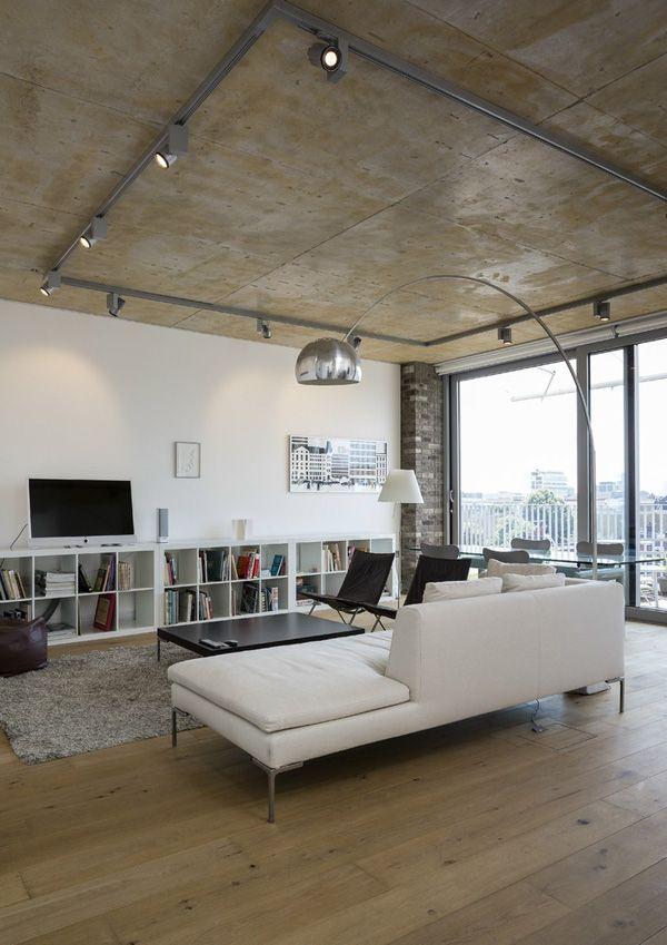 Best Living Room Images On Pinterest Living Room Living - Cool apartment ideas blending wood black white interior design decor