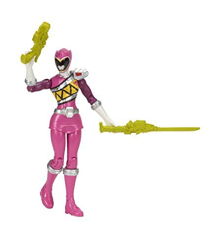 From 6.43 Power Rangers Dino Charge 12.5 Cm Pink Ranger Action Figure