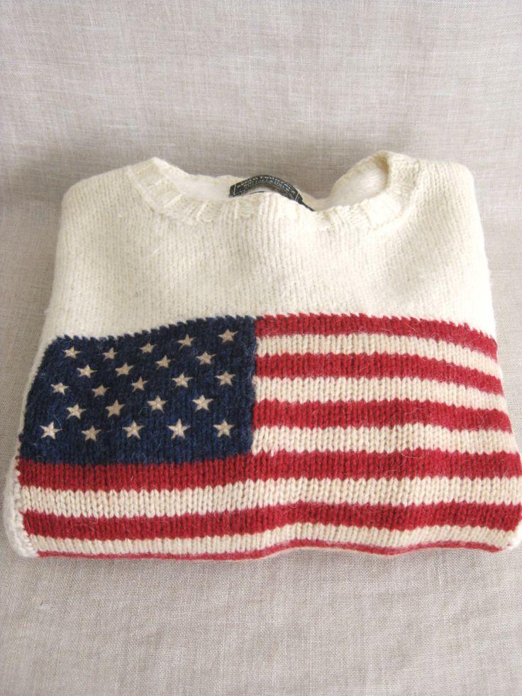Ralph Lauren Sweater, Mens Sweater, Hand Knit, Flag Sweater, Wool Sweaters, Mens, Mans Sweater, Cream, American Flag, Sweaters, Americana by wilshepherd on Etsy https://www.etsy.com/listing/290319899/ralph-lauren-sweater-mens-sweater-hand