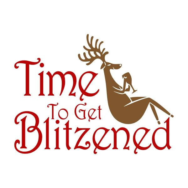 Time to get Blitzened Cuttable Design Cut File. Vector, Clipart, Digital Scrapbooking Download, Available in JPEG, PDF, EPS, DXF and SVG. Works with Cricut, Design Space, Cuts A Lot, Make the Cut!, Inkscape, CorelDraw, Adobe Illustrator, Silhouette Cameo, Brother ScanNCut and other software.