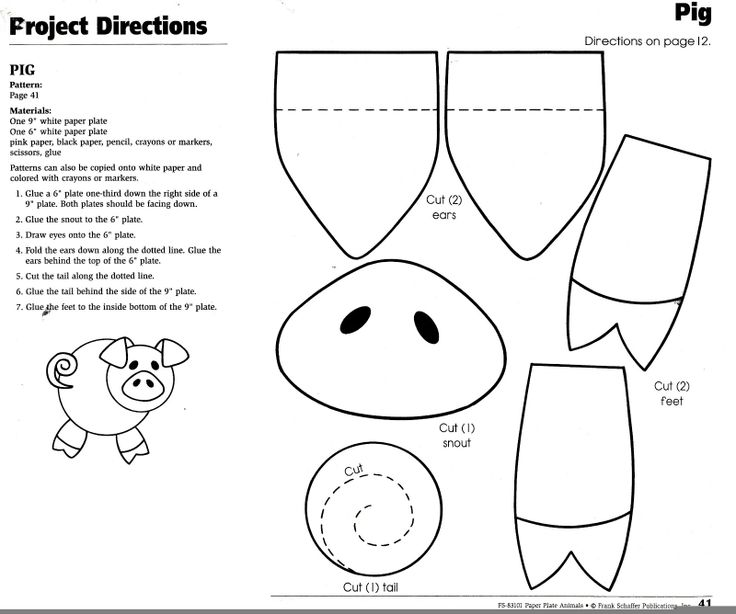 pig puppet template - 100 ideas to try about thema de drie biggetjes wolves