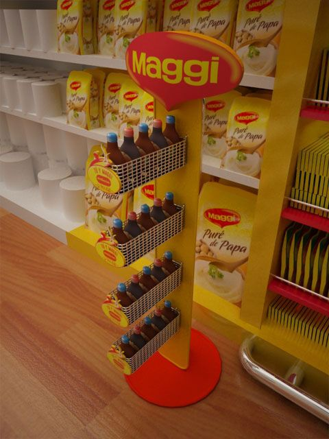 Retail Proposal for Maggi Nestlé on Behance