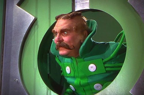 Wizard of Oz - no one gets in to see the wizard, not no one, not no how!