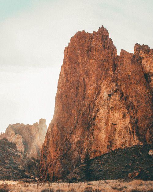 Smith Rock, Oregon.by Nicholas Peter Wilson