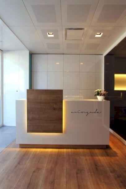 60 Inspiring Minimalist Front Office Furniture Ideas