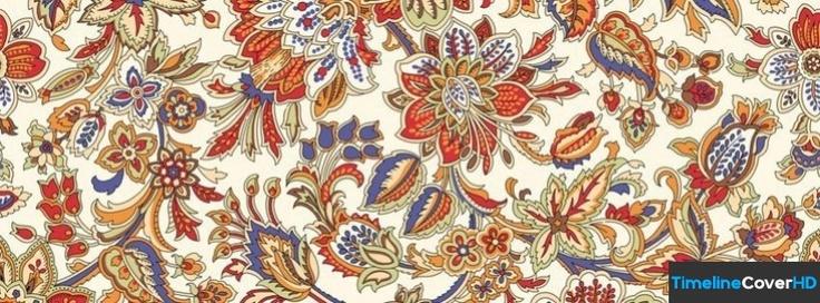 Floral Pattern 5 Facebook Cover Timeline Banner For Fb Facebook Cover