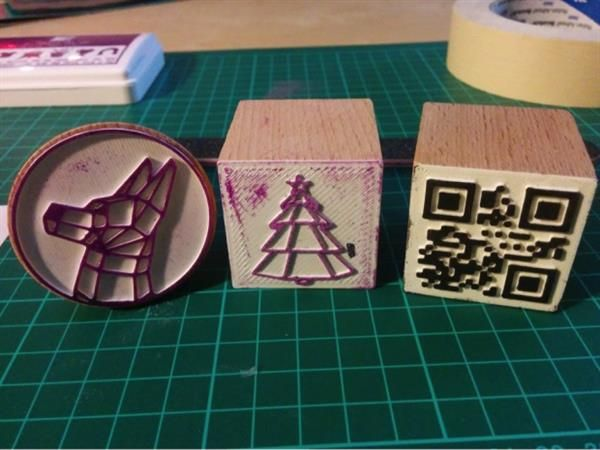 3ders.org - Create custom 3D printed stamps using free software and this easy tutorial   3D Printer News & 3D Printing News