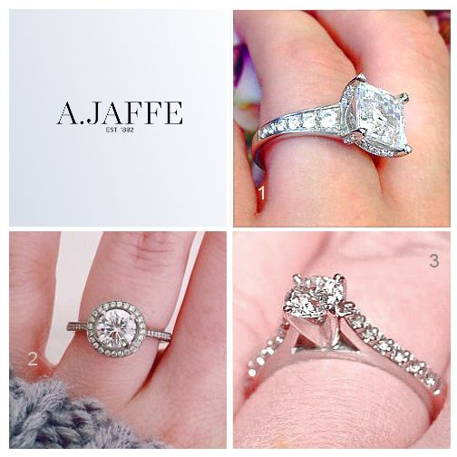 Which AJAFFE Diamond Engagement Ring Above Is Your Favorite 1 2