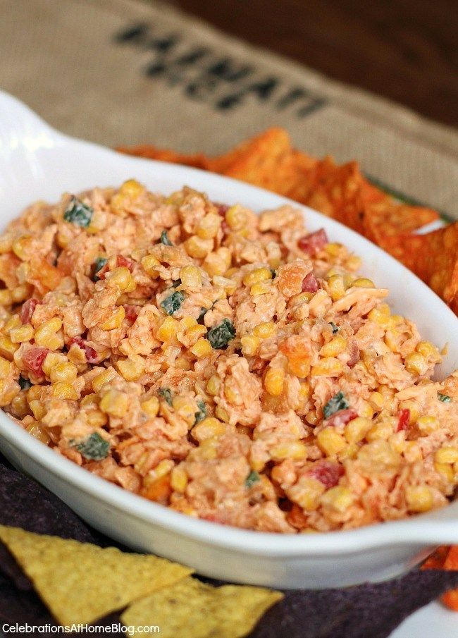 This sweet and spicy Doritos corn dip is so good, you won't believe it until you try it. Get the recipe here.