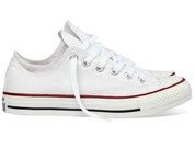 Witte Converse sneakers All Star OX gympen