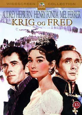 Krig og Fred (Audrey Hepburn) (DVD) - Laserdisken.dk - salg af DVD ...