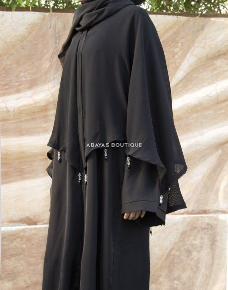 Get ready to Wow in our selection of stunning cape style abayas