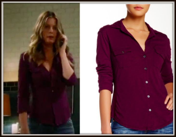 'General Hospital' Fashion: Get Nina Clay's Blouse For Less – Michelle Stafford Style For Less!