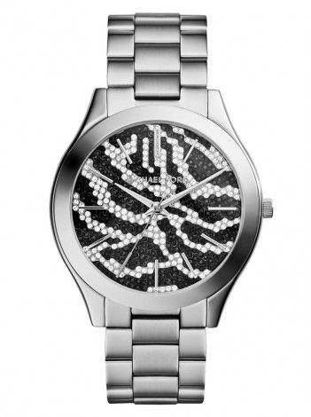 MICHAEL KORS Slim Runway stainless steel bracelet ΜΚ3314 http://kloxx.gr/brands/michael-kors/michael-kors-slim-runway-stainless-steel-bracelet-mk3314
