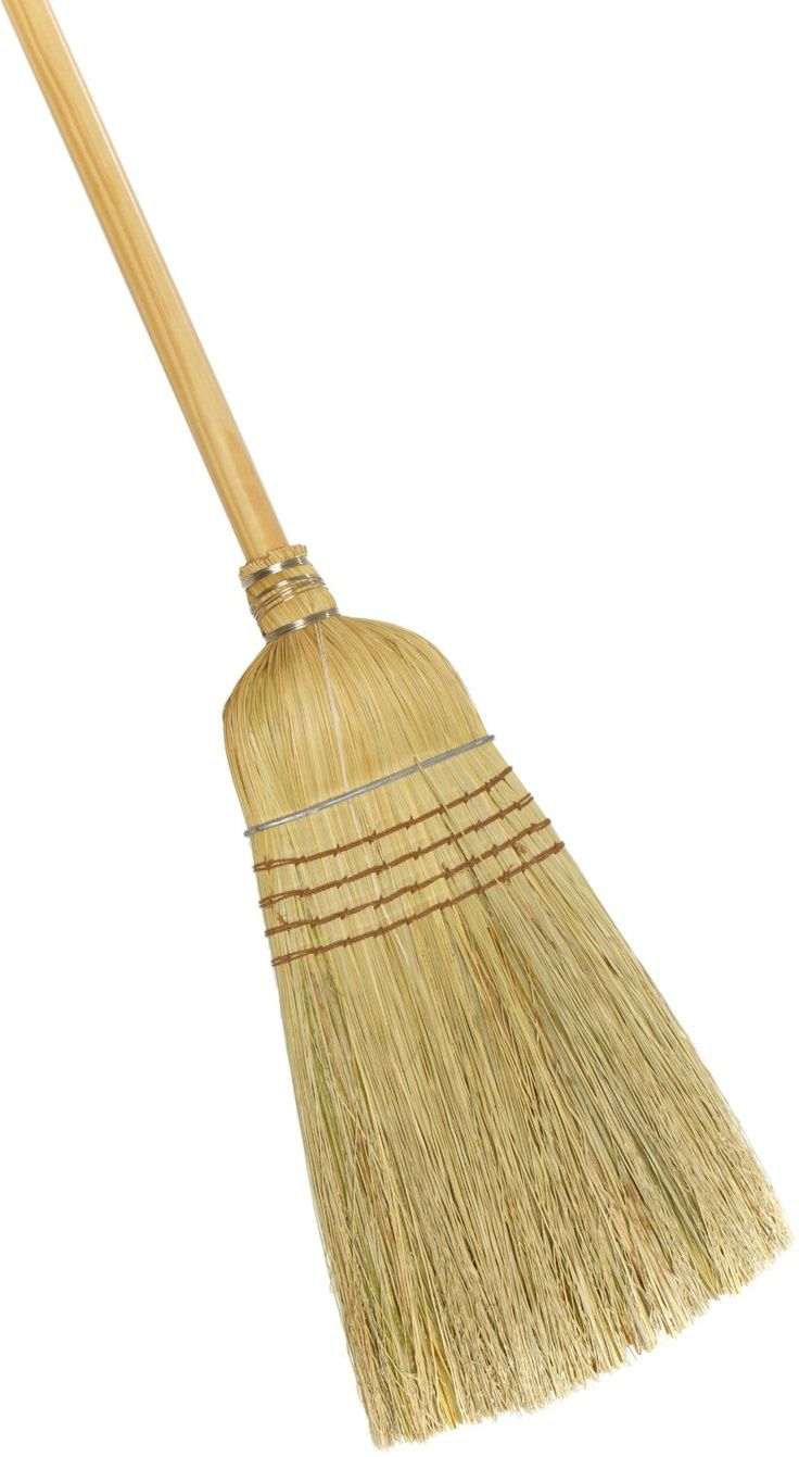 Old Fashioned Wooden Brooms