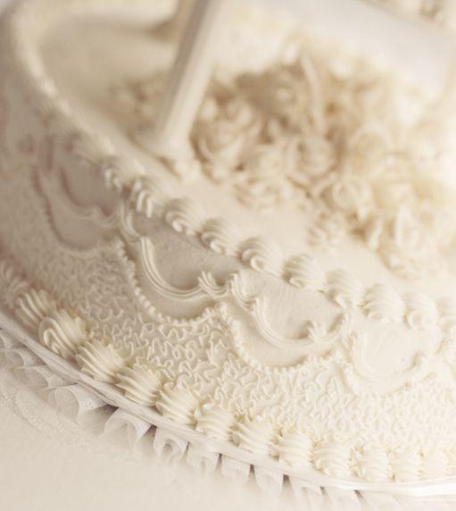Recipe traditional white wedding cake