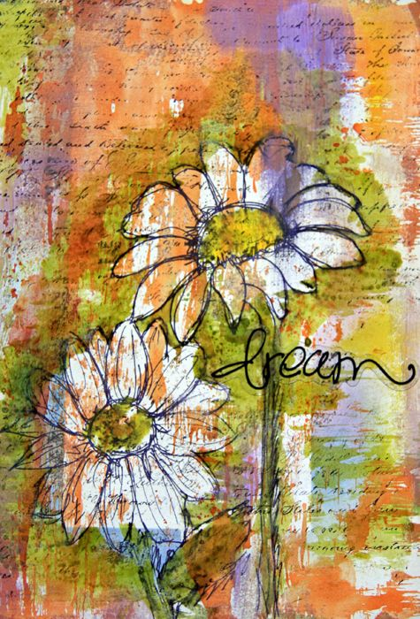 Art journal log: changes in life…