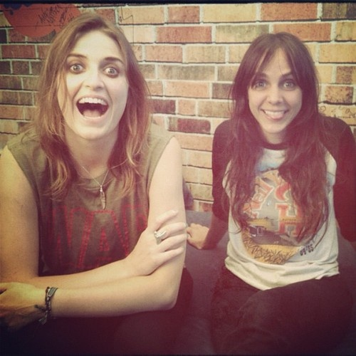 Emily Armstrong & Siouxsie Medley from DeadSara