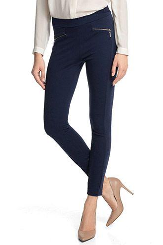 Esprit / Luxury Winter-Leggings mit Zippern