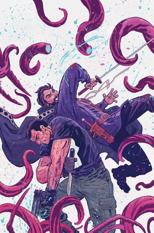 Doctor Strange/ Punisher: Magic Bullets #4 - Michael Walsh