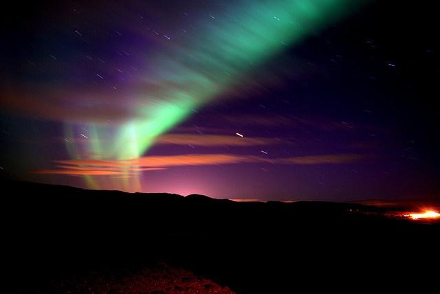 Aurora Borealis by mabufeu, via Flickr: Bucketlist, Polar Bears, Trav'Lin Lights, Northern Lights, Aurora Borealis, Paintings Color, The Buckets Lists, My Buckets Lists, Purple Sky