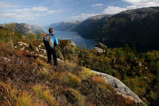 Fra Hengjane. Foto: Ove Førland