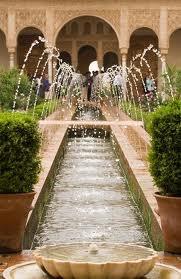 Fuentes de agua. Alhambra -