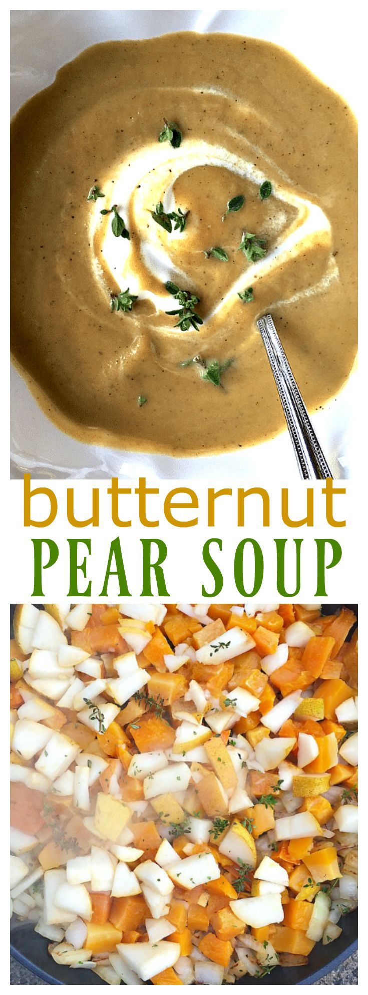 This Butternut Pear Soup recipe is made with pears and butternut squash. The…