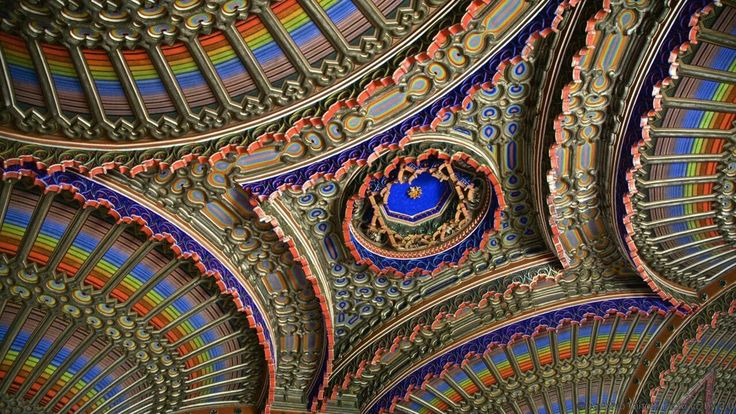 Castello di Sammezzano, Leccio, ItalyThe mesmerising ceiling, vaults and decor of the Peacock Room in this abandoned Italian palazzo near Florence speak for themselves. Peacocks, and other exotica, were the source of the inspired decoration to be found throughout the seemingly endless empty rooms of this daydream building. The Moorish-style makeover of what was a much older palace was the life work of Ferdinando Panciatichi Ximenes d'Aragona. Although the aristocratic Italian architect…