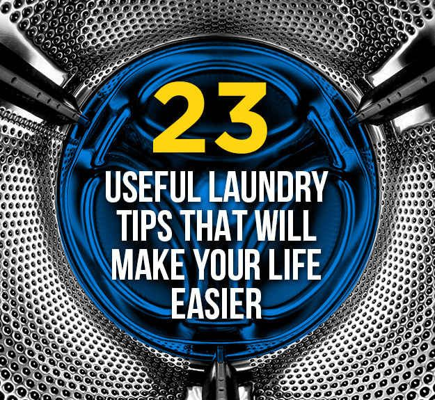 23 Surprising Laundry Tips You Didn't Know You Needed. Aka university student survival when your machines are really crappy but it's the best I've got!